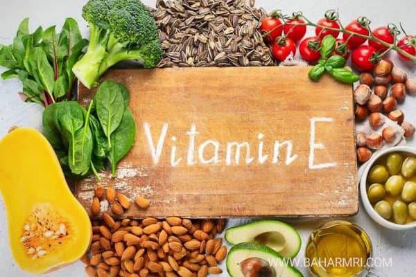 خواص و میزان مصرف ویتامین E برای بدن