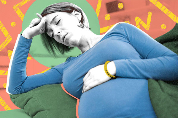 میگرن در بارداری